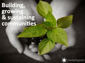 social media community growth nurturing sustaining