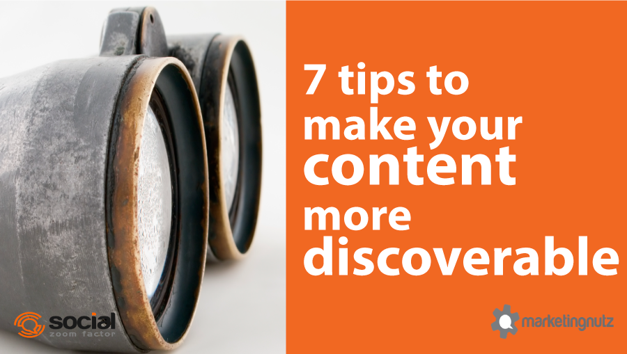 how to create discoverable content