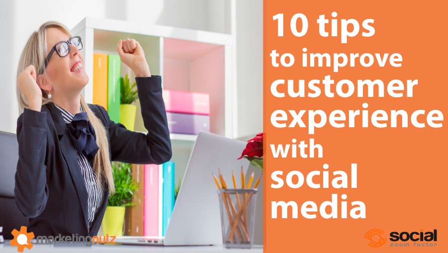social customer experience and service