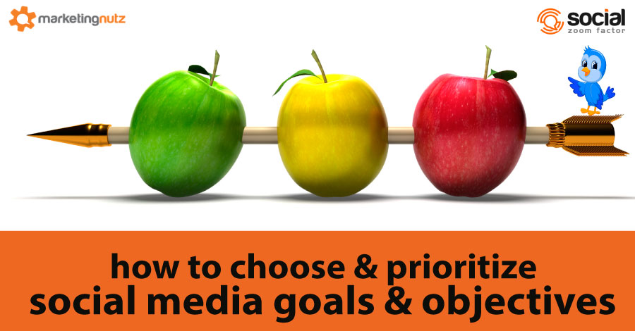 how to prioritize social media objectives