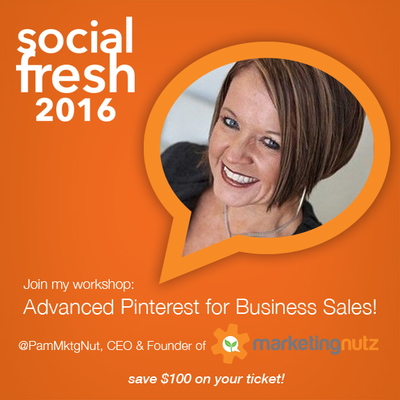 social fresh conference 2016 advanced pinterest for business workshop