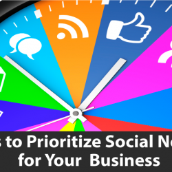 how to prioritize social networks for business