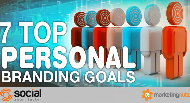 top personal branding goals to build your strategy