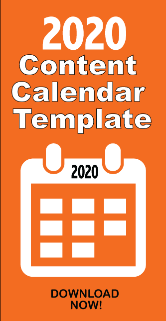 FREE 2020 Content Editorial Calendar Template