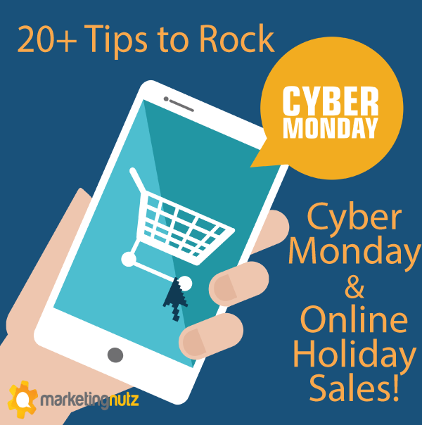 cyber monday holiday ecommerce social media sales 2014