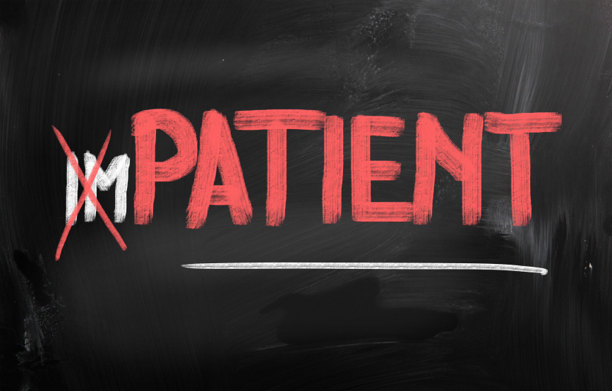social media strategy don't be impatient