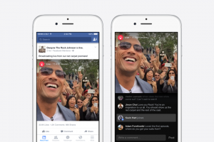 Facebook Mentions Mobile Live Streaming Only for Celebrities?
